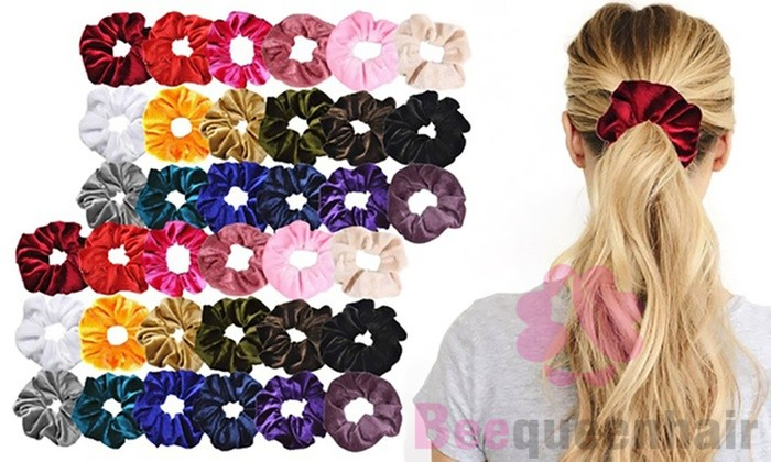 scrunchies for hair tangle