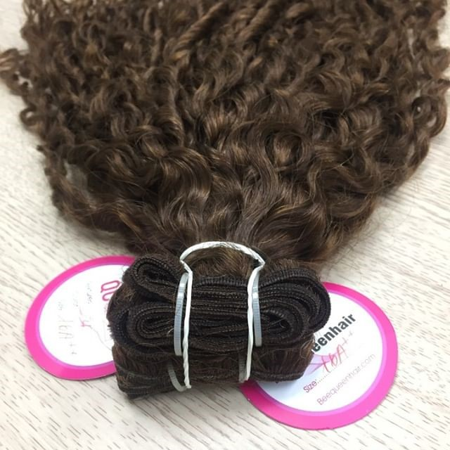 10 Inches Curly Hair Weave Description