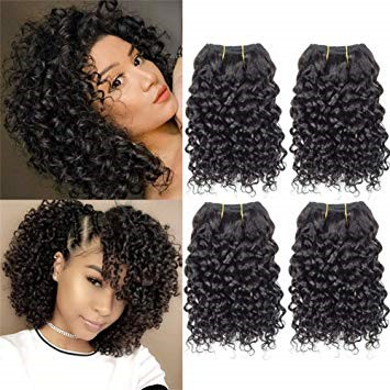 22 Inch Curly Hair Weave