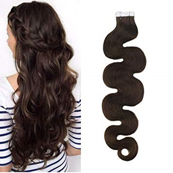22 Inches Weave Wavy Human Hair Extensions