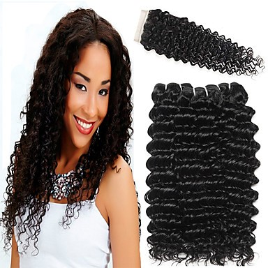 30 Inch Weave Curly Human Hair