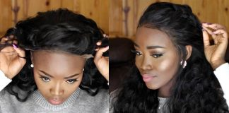 Apply Lace Frontal