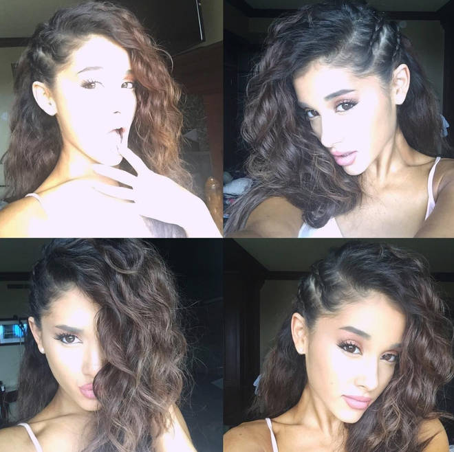 Ariana Grande Natural Hair Down
