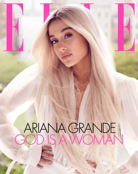Ariana Grande On Elle's Cover