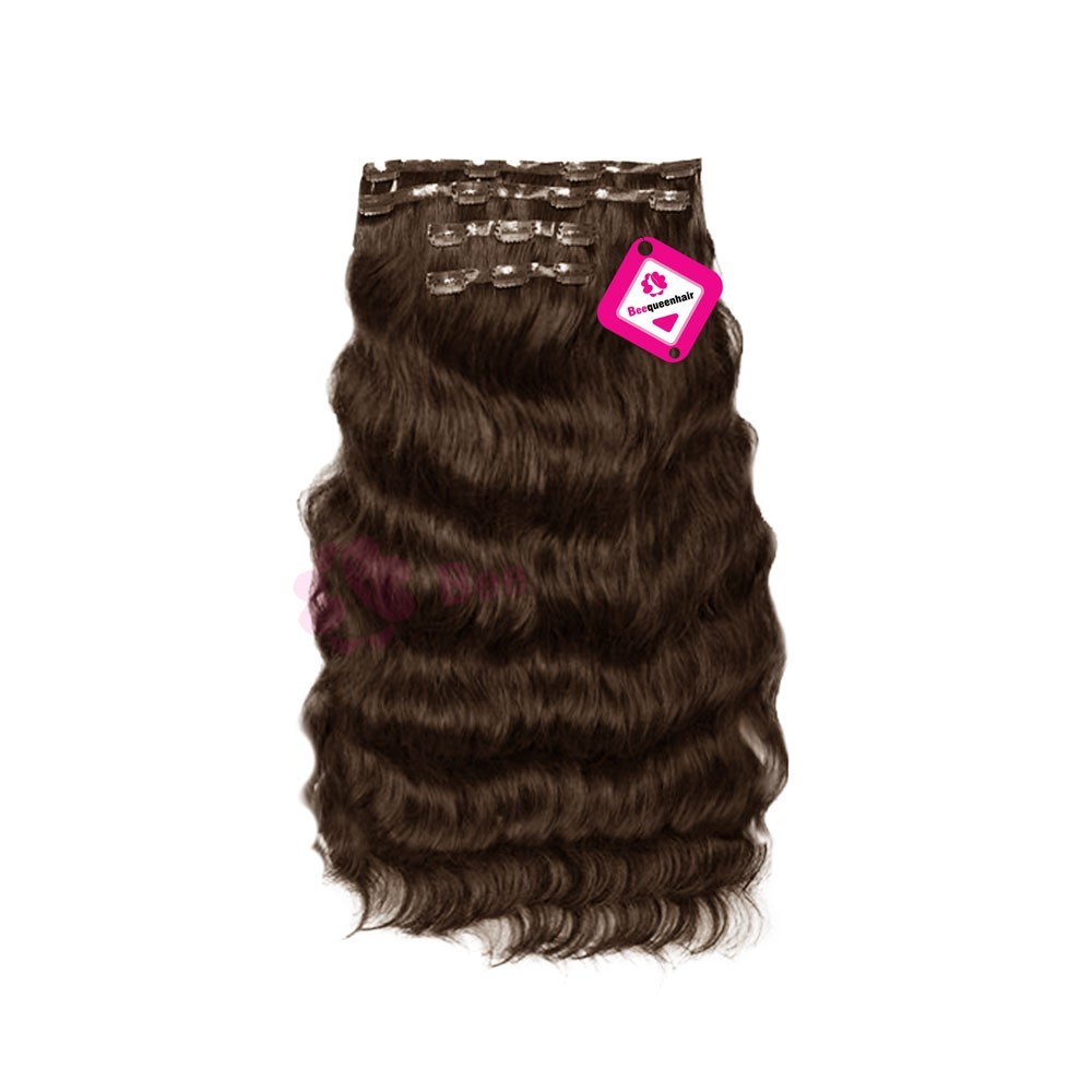 8 Inches Wavy Hair Weave