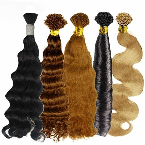 Weave Curly Human Hair Extensions