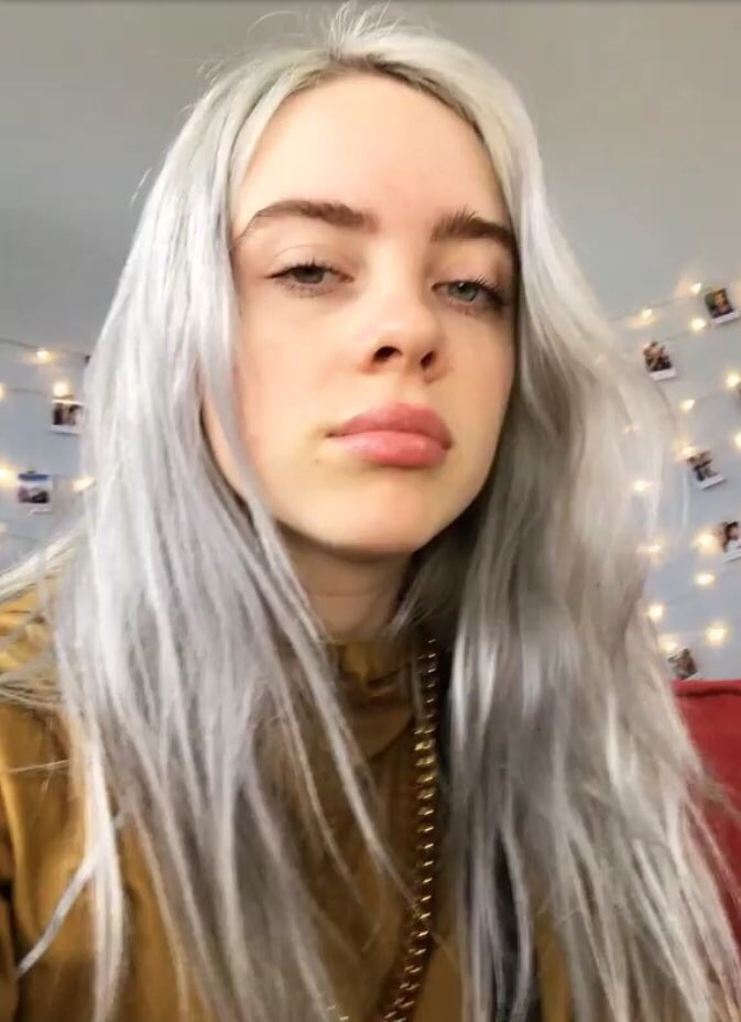 Billie Eilish Grey Hair