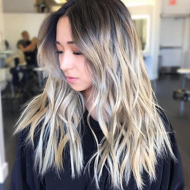Care For Your Ash Blonde Highlight Color