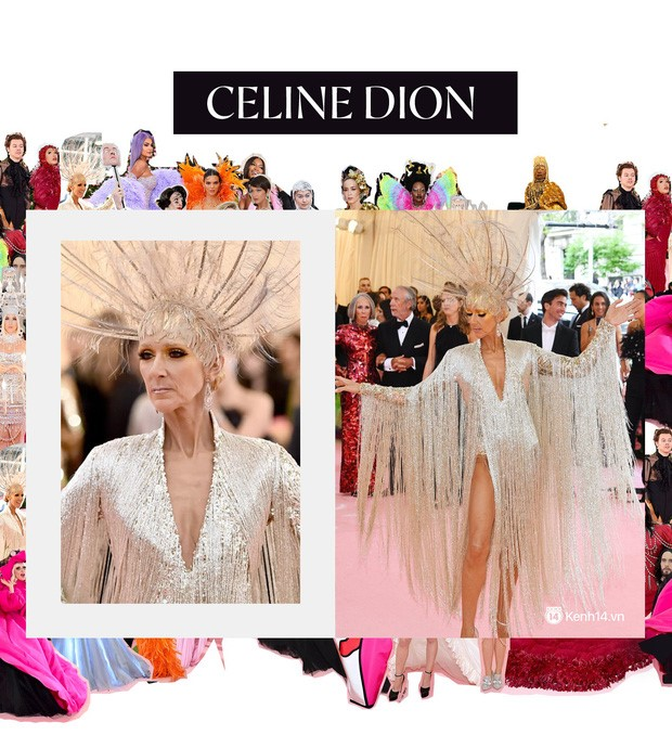 Celine Dion At Met Gala