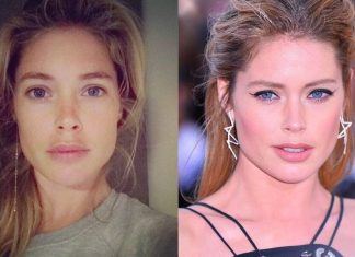 Doutzen Kroes Gorgeous Face Without Makeup