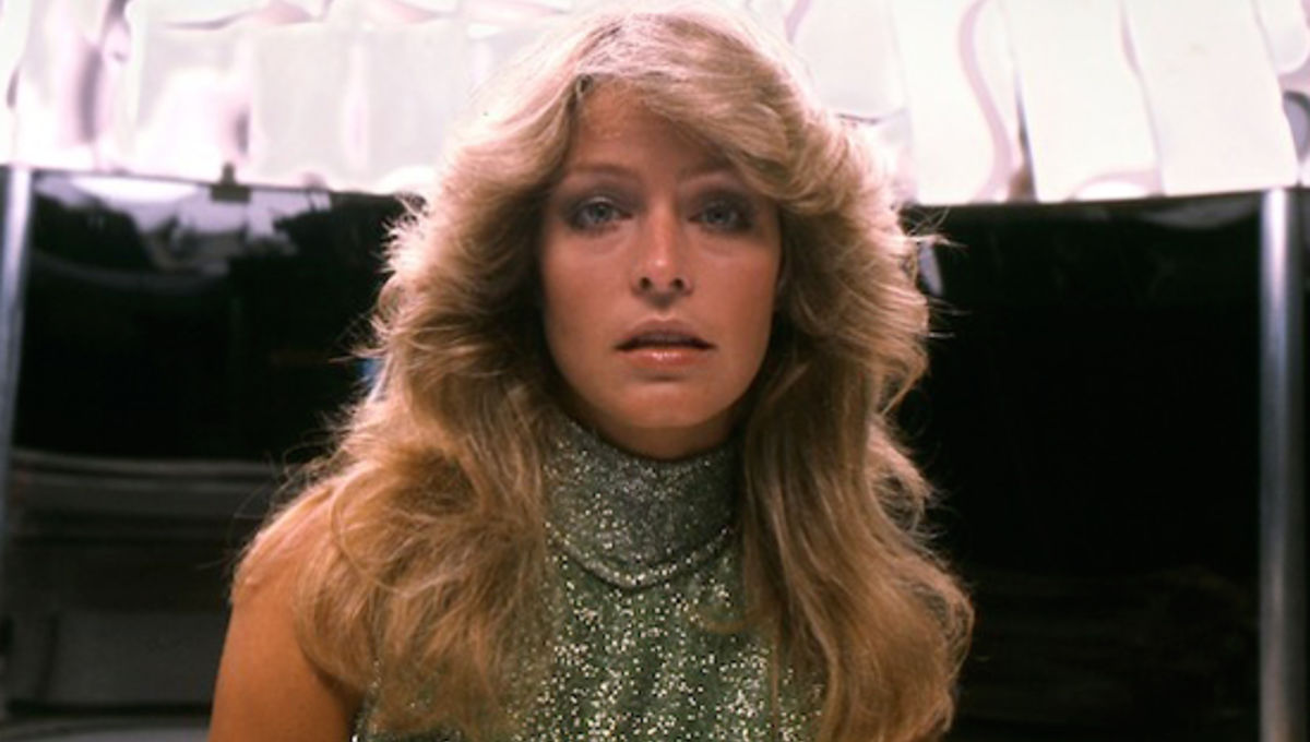 Farrah Fawcett Feathered Hair