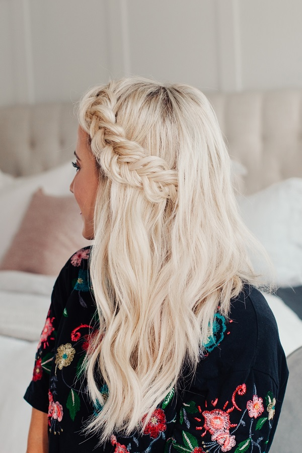 French Braid Crown 03
