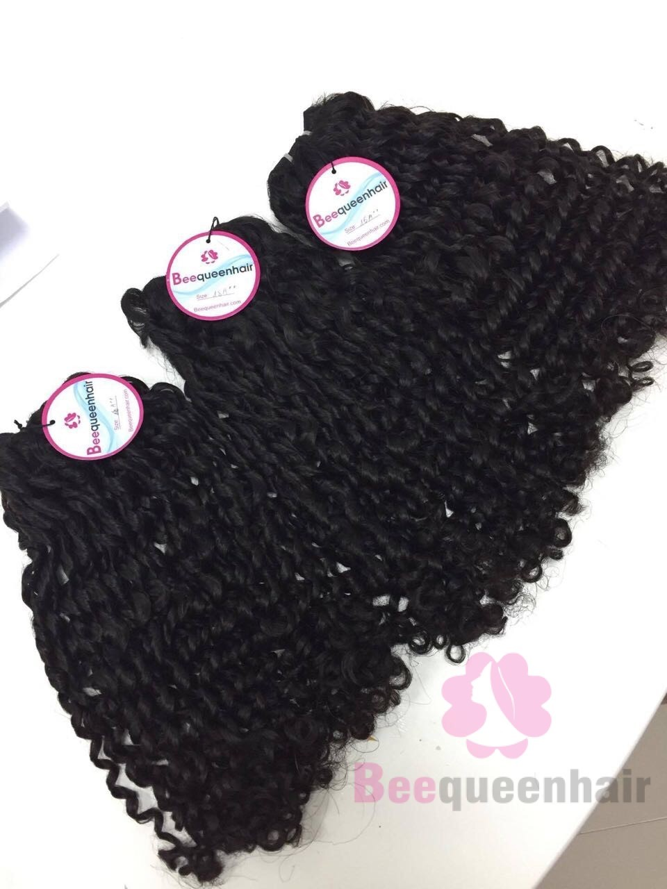 24 Inch Weave Curly Human Hair