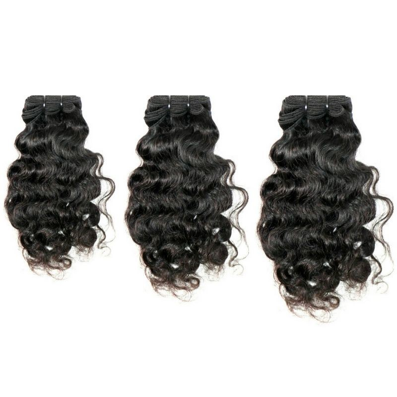 Hair standard of 10 inch human curly hair weave