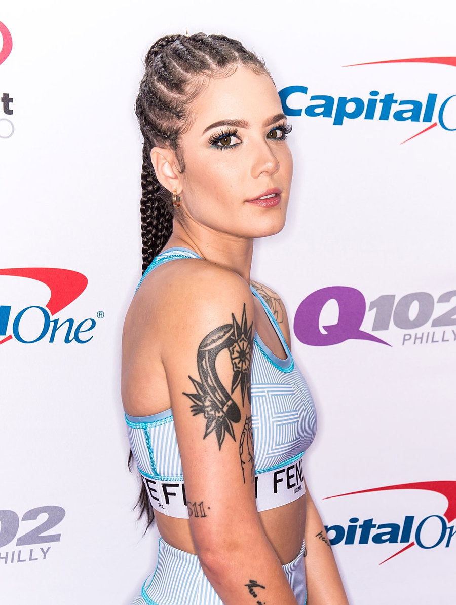 Halsey Dookie Braid Ponytail