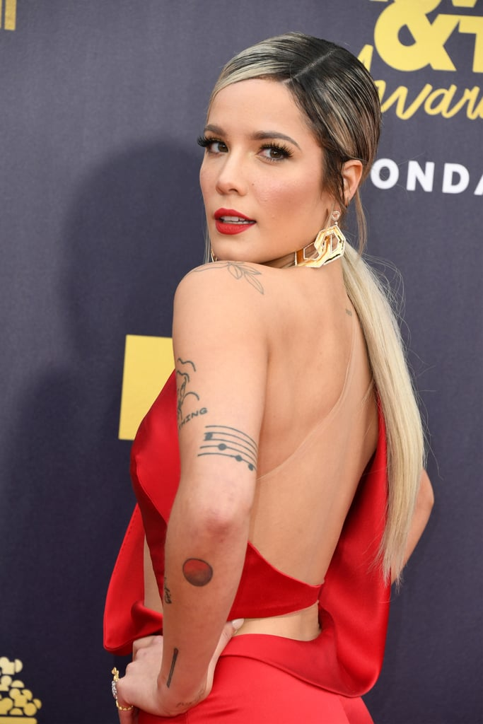 Halsey Ombre Low Ponytail