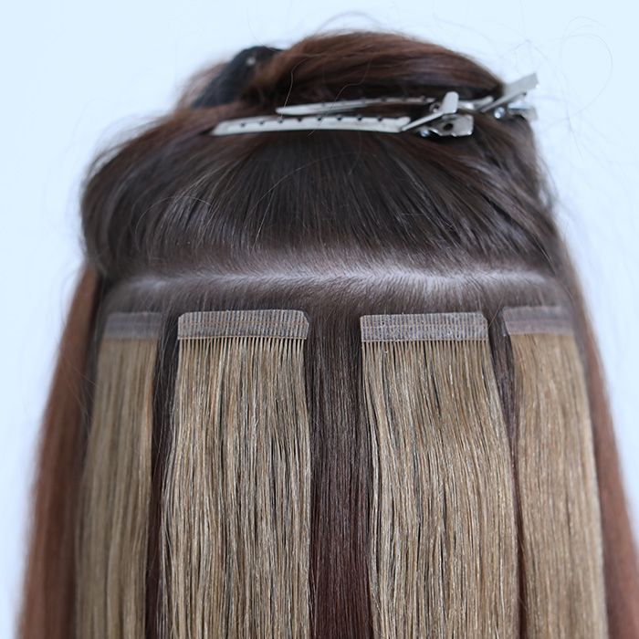 Having Tape In Hair Extensions