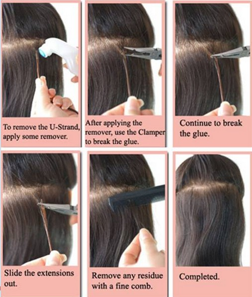 How To Remove U Tip Hair Extensions