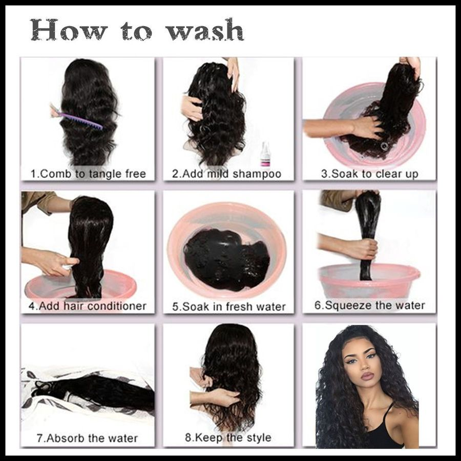 How To Wash Lace Frontal
