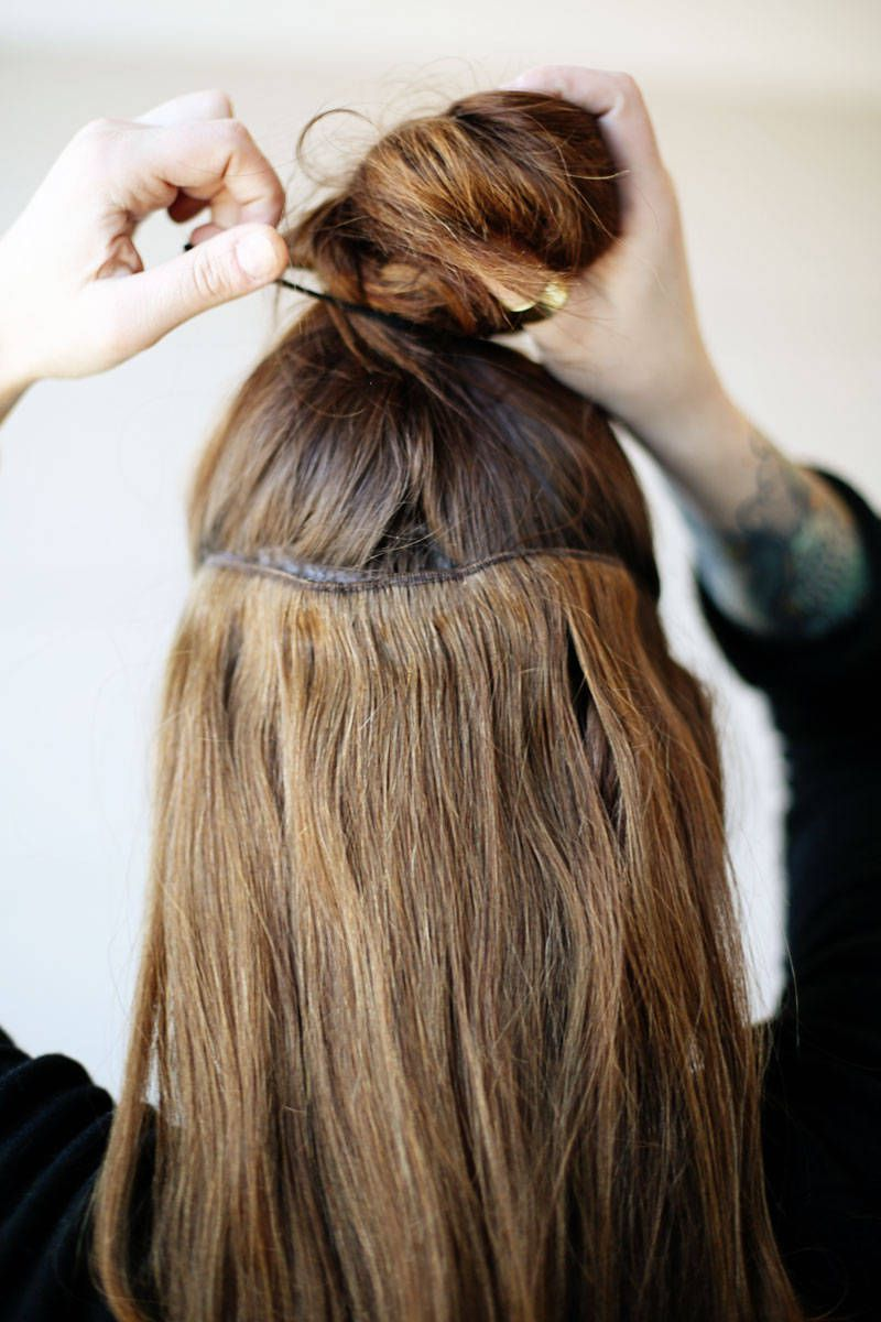 How To Wear Clip In Hair Extensions Vietnam Hair
