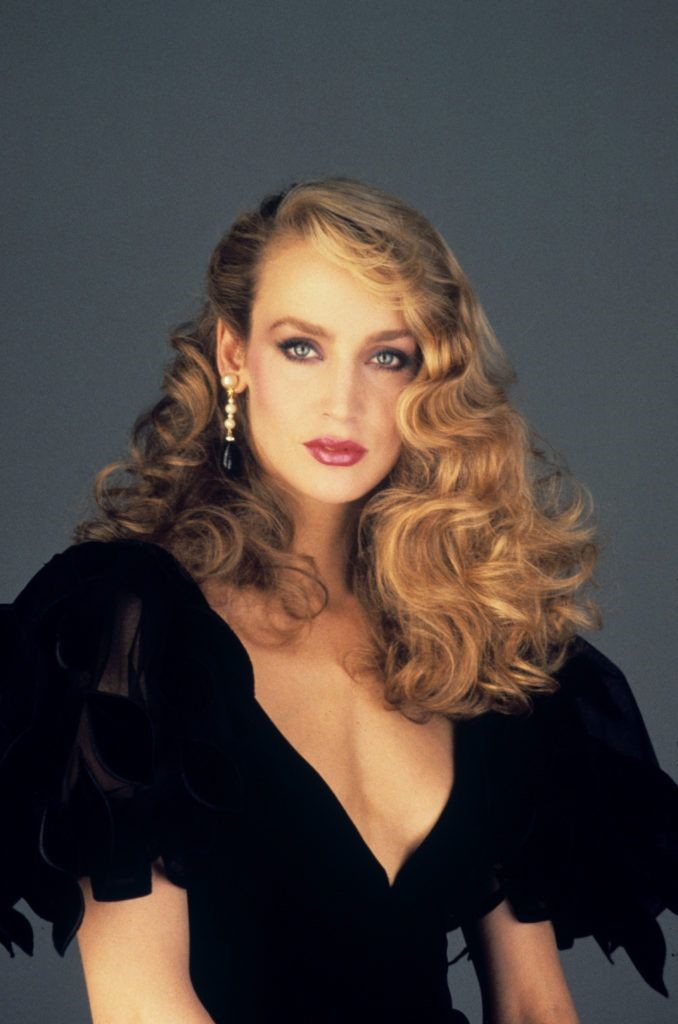 Jerry Hall's Curls