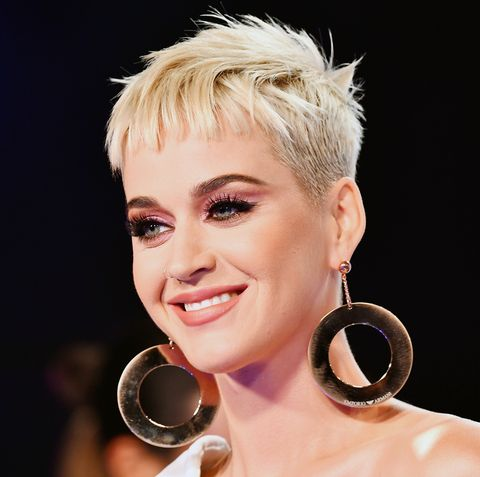 Katy Perry Blonde Pixie Hair