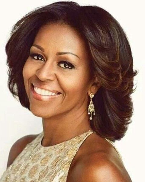 Michelle Obama Natural Hair