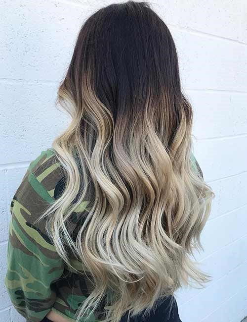 Ombre Ideas For Dark Hair