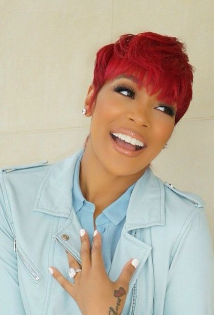 Pixie Haircut Monica Brown