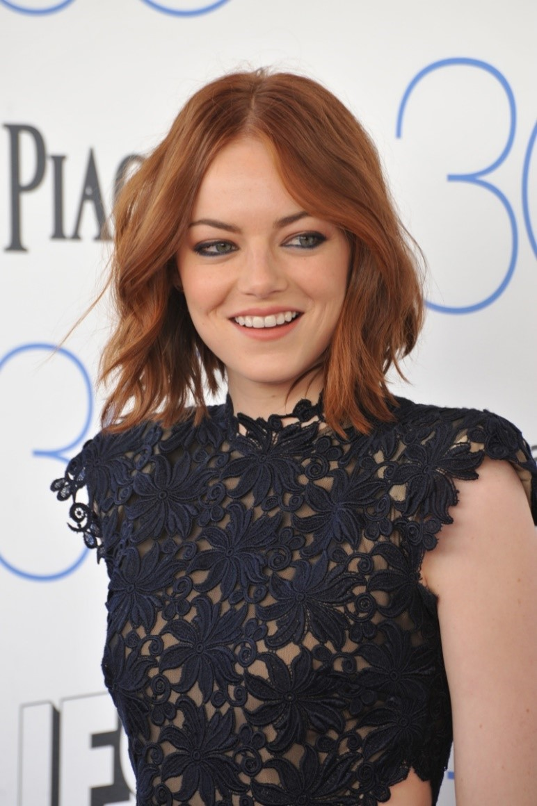 Signature Red Shades Of Emma Stone