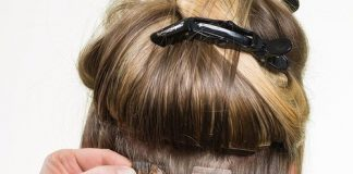 Using Tape In Hair Extensions