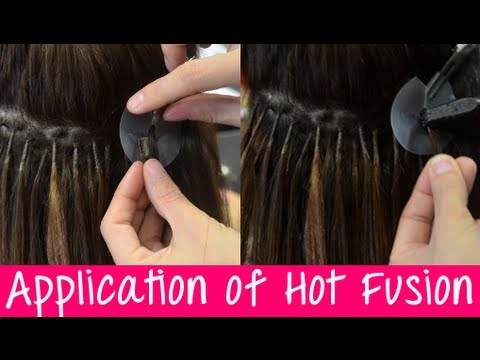 V Tip Hair Application