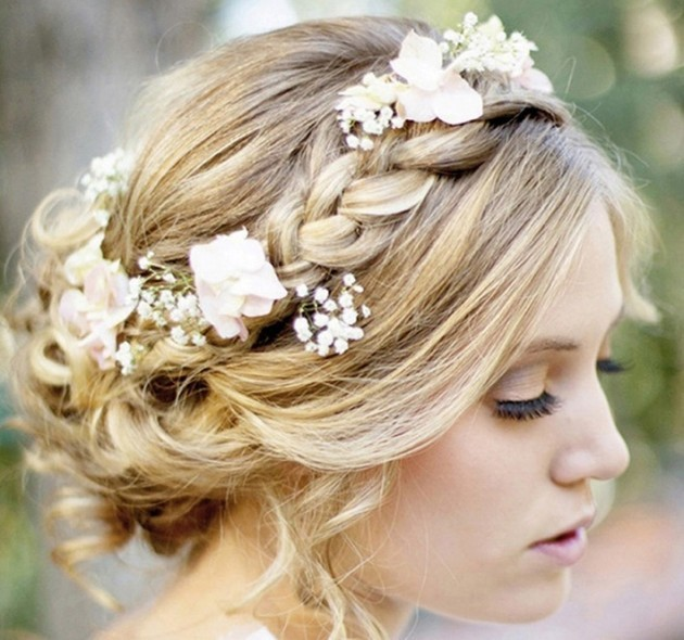 Wedding Greek Goddess Hairstyle